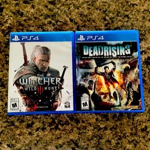 Lot of two PS4 games
